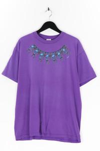 FRUIT OF THE LOOM - kurzarm-shirt aus baumwolle mit print - XL