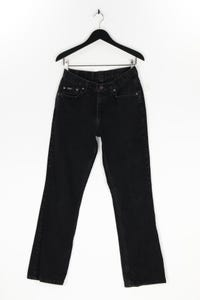 RIDERS - used look straight cut jeans mit logo-patch - M