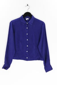 OLD NAVY - hemd-bluse aus seide - S