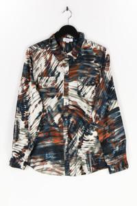 Calvin Klein - satin-bluse mit print - L