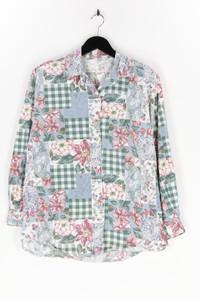 CAPACITY - bluse mit floralem muster, aus baumwolle - L