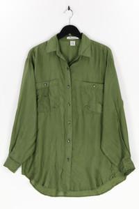 Punch - seiden-bluse mit aufgesetzten taschen - L
