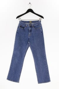 Caslon - used look straight cut jeans aus baumwolle - D 38