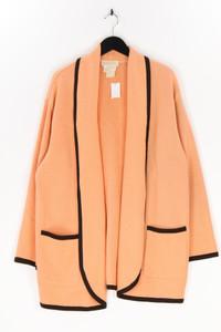 ESCADA MARGARETHA LEY - cardigan aus schurwolle mit paspelierung - D 40