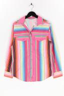 Ohne Label-Hemd-Bluse mit Streifen mit Streifen-M