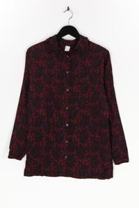 Ohne Label - hemd-bluse aus viskose mit paisley-print - D 38