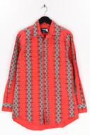 WRANGLER - hemd aus baumwolle im ethno-stil - XL