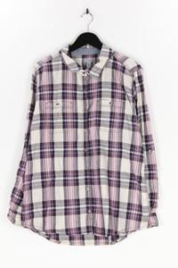carhartt - hemd-bluse aus baumwolle mit roll-up-manschette - XL
