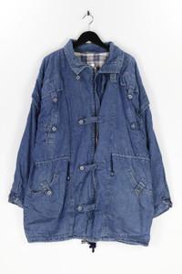 Ohne Label - jeans-jacke mit tunnelzug - L