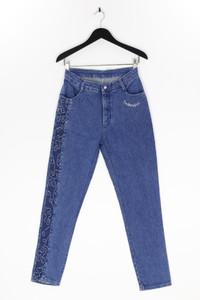 BIANCA MARIA CASELLI - jeans mit strass-steinen - M