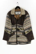 CYGIELMAN COMPANY - winter-jacke aus woll-mix mit leder-details - 50