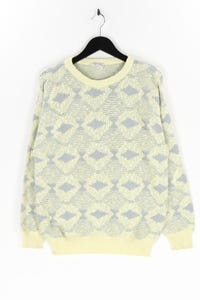 Angelo Litrico C&A - muster-pullover aus baumwoll-mix - M