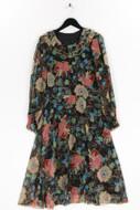 Ohne Label-Kleid mit floralem Muster floralem Muster-L