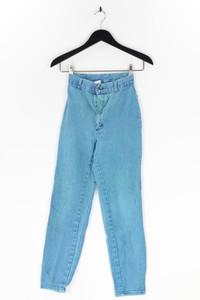 BEYOND BLUE - high waist- straight cut jeans - XXS