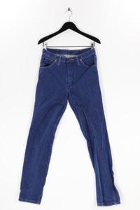 WRANGLER - straight cut jeans mit logo-applikation - W32