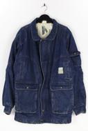 Ohne Label-Oversize-Jeans-Jacke aus Baumwolle aus Baumwolle-48_52