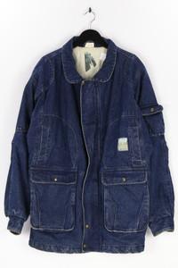 Ohne Label - oversize-jeans-jacke aus baumwolle - 52