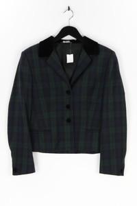 LAURA ASHLEY - blazer aus reiner schurwolle mit karo-muster - D 38