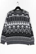 Ohne Label-Pullover -L