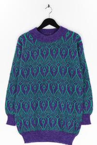 Ohne Label - strick-pullover mit mohair - L