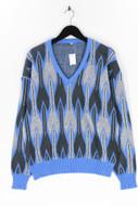 Ohne Label-Strick-Pullover -S