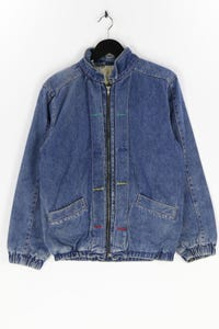 Ohne Label - jeans-jacke im used look - S