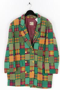 HÄUSSER - blazer-mantel aus woll-mix mit karo-muster - D 42
