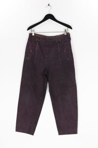 K.T. Klaus Tierschmidt - jeans im used look mit logo-patch - D 42