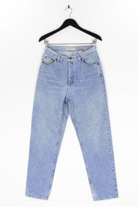 ST JOHN´S BAY - high waist-jeans im used look mit logo-patch - D 40