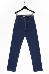 JOKER - high waist-jeans mit logo-badge - W30