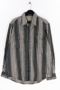 BYGERT - gestreiftes hemd mit aufgesetzten taschen - XL