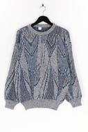 Ohne Label-Muster-Pullover mit Wolle mit Wolle-L