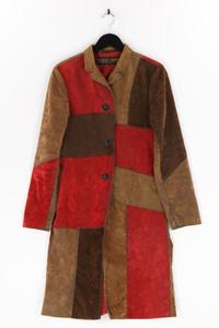 Freeman T. Porter - faux leather-mantel im patchwork-stil - D 36