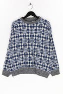 Ohne Label-Muster-Pullover -52