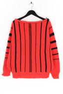 Ohne Label-Fledermaus-Pullover -L