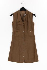 Ohne Label - kleid mit riegeln - D 38