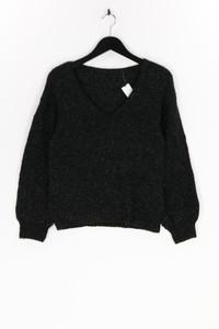 Ohne Label - glitzer-strick-pullover - M
