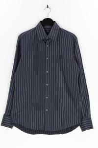BOSS HUGO BOSS - gestreiftes hemd aus baumwolle - 40