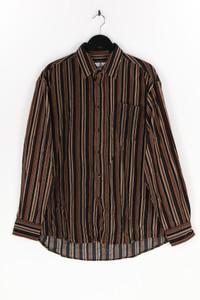 SERGIO MALDINI - hemd mit streifen - XL