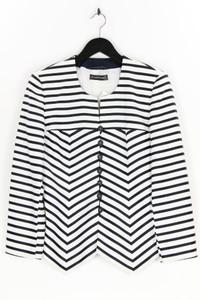 Louis Féraud PARIS - streifen-blazer mit logo-knöpfen - D 42