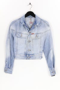 RIFLE - kurz-jeans-jacke im used look - M