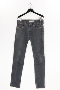 Levi´s - used look slim-jeans mit logo-patch - M