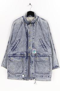 C&A - jeans-jacke im used look mit tunnelzug - M