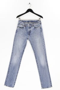 Levi´s - jeans im used look mit logo-patch - W32
