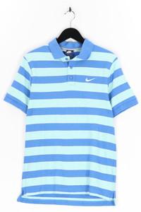 NIKE - polo-shirt mit streifen - L