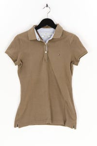 TOMMY HILFIGER - polo-shirt mit logo-stickerei - S