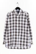 TOMMY HILFIGER - kariertes hemd aus baumwolle mit logo-stickerei - M