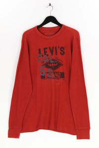 Levi´s - longsleeve-shirt mit logo-print - XL