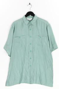 C&A - kurzarm-hemd casual uni aus seide - M