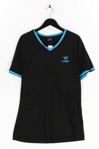 hummel - t-shirt mit logo-print - L